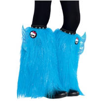 Child Furry Monster High Leg Warmers