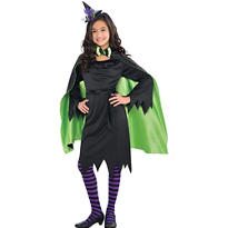 Child Fairy Witch Cape