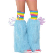 Rainbow Dash Furry Leg Warmers - My Little Pony