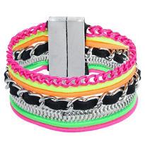 80s Neon Stacked Bracelet