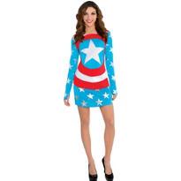 American Dream Long-Sleeve Dress