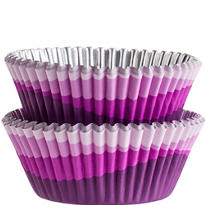 Purple Ombre Foil Baking Cups 36ct