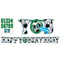 Soccer Birthday Banner 10ft