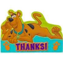 Scooby-Doo Thank You Notes 8ct