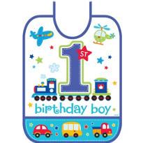 All Aboard 1st Birthday Bib