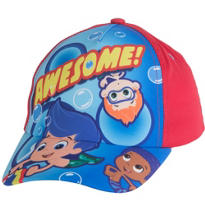 Child Red Bubble Guppies Baseball Hat