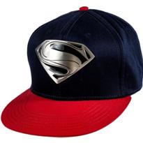 Metal Plate Superman Baseball Hat