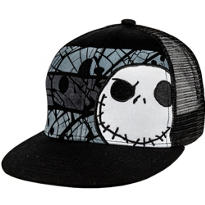 Jack Skellington Trucker Hat - The Nightmare Before Christmas