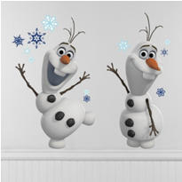 Frozen Olaf Wall Decals