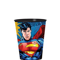 Superman Favor Cup