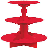 Red Cupcake Stand