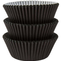 Black Baking Cups 75ct