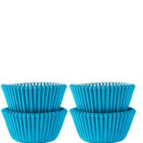 Mini Caribbean Blue Baking Cups 100ct