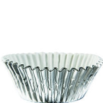 Silver Baking Cups 75ct