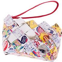 Dubble Bubble Candy Wrapper Wristlet