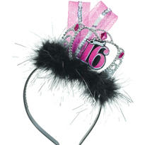 Celebrate Sweet 16 Tiara Headband