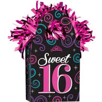 Celebrate Sweet 16 Balloon Weight