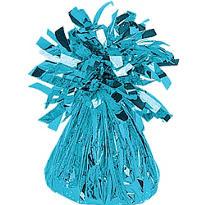 Caribbean Blue Foil Balloon Weight