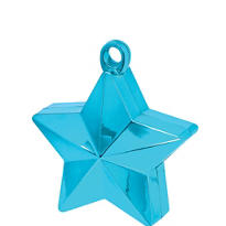 Caribbean Blue Star Balloon Weight