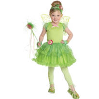 Girls Tutu Tinker Bell Costume