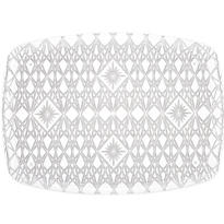 CLEAR Crystal Cut Tray 16in x 22in