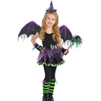 Girls Witch Fairy Costume