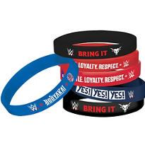 WWE Wristbands 4ct