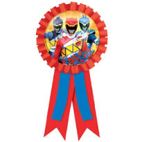 Power Rangers Award Ribbon