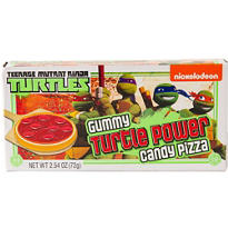 Teenage Mutant Ninja Turtles Gummy Candy Pizzas 8ct