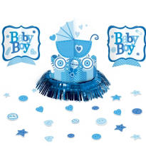 Boy Baby Shower Table Decorating Kit 23pc - Celebrate
