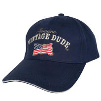 Vintage Dude Genuine Baseball Hat