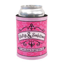 Sixty & Sublime Birthday Beverage Coozie