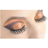 Self-Adhesive Rhinestone False Eyelashes