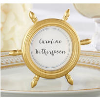 Ship Wheel Photo Frame & Place Card Holder