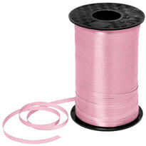 Pink Curling Ribbon