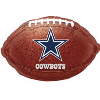 Dallas Cowboys Foil Balloon 18in