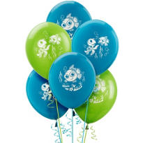 Latex Finding Nemo Balloons 12in 6ct