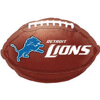 Detroit Lions Foil Balloon 18in
