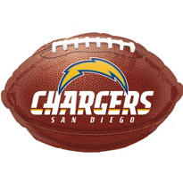 San Diego Chargers Foil Balloon 18in