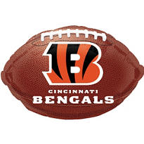 Cincinnati Bengals Foil Balloon 18in