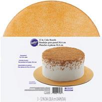 Wilton Glitter Gold Cake Boards 3ct