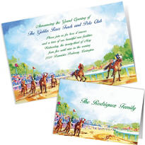 Custom Kentucky Derby Invitations & Thank You Notes