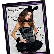 Bombshell Bunny Mix & Match Women's Looks