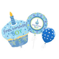 1st Birthday Boy Balloons