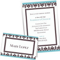 Custom Always & Forever Wedding Invitations & Thank You Notes