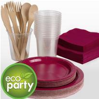 Eco Friendly Raspberry Tableware