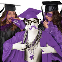 Graduation Spirit Purple