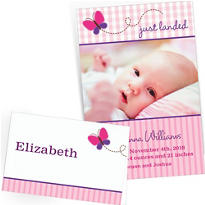 Custom Birth Announcements & Thank You Notes