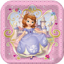 Sofia the First 1st Birthday Party Supplies