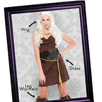 Mother of Dragons Warrior Mix & Match Women's Looks